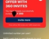 360 Invite Points Cash Prize Offer - SweatcoinBlog
