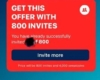 800 Invite Points Cash Prize Offer - SweatcoinBlog