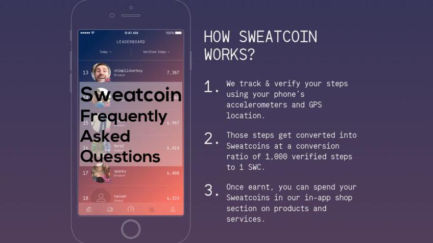 Sweatcoin FAQ